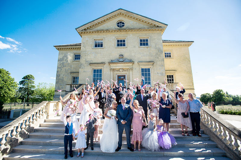 Danson House wedding