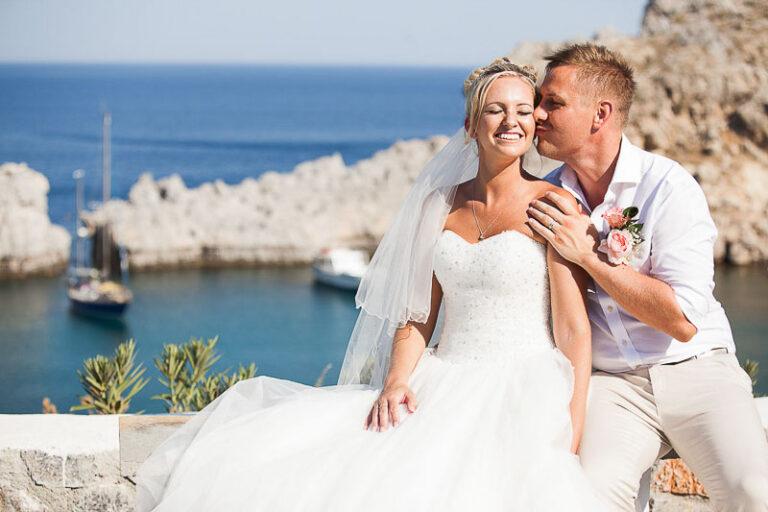 Destination Wedding, Rhodos, Greece // Kayleigh & Dan